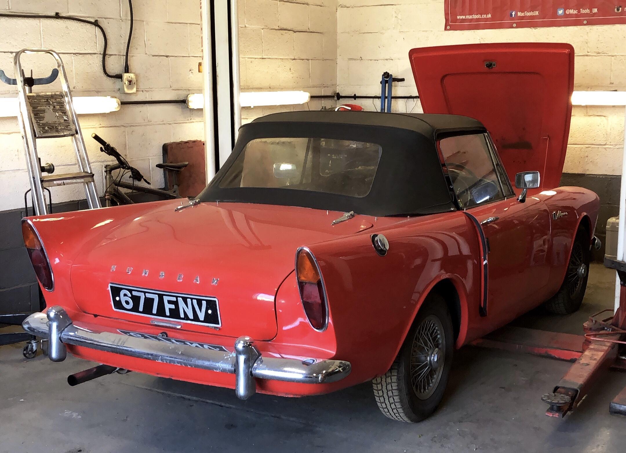 Sunbeam Alpine Automax Banbury